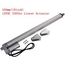 online buy whole 12v linear actuator from 12v linear electric linear actuator 12v dc motor 450mm stroke linear motion controller 4mm s 1500n heavy