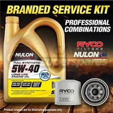 image is loading ryco oil filter nulon 5l syn5w40 engine oil