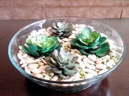 marvelous green fl on glass plate decoration for coffee table centerpieces idea