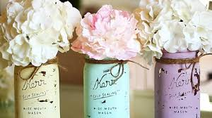 How To Use Mason Jars For Decorating Mason Jar Crafts How To Chalk Paint Your Mason Jars 25
