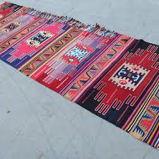 vintage runner kilim rug turkish handmade kilim rug anatolian nomadic kilim rug bohemain
