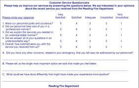 customer service satisfaction survey examples patient satisfaction survey questionnaire mailed to eligible