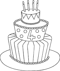 Birthday Cake Drawing Step By Step At Paintingvalleycom Explore