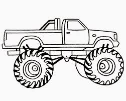 Awesome Collection Coloring Pages Monster Trucks Grave Digger For Of