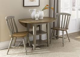 brilliant three piece dining room set 9791 3 chair dining table prepare