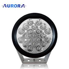 Round Led Lights High Intensity Round Led Driving Light Hid Offroad Led Spot Lights From Aurora Buy Hid Off Road Light Offroad Led Spot Lights Round Led Driving