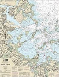 Boston Harbor Nautical Map Chart Journal 7 1 2 X 9 3 4 Inch