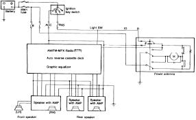 mazda rx audio system circuit diagram