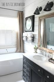 Diy Bathroom Reno Our Diy Farmhouse Styled Bathroom Makeover
