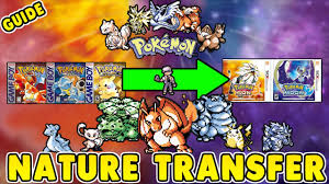 Pokemon Platinum Nature Chart How To Know Natures In Pokemon Red Blue And Yellow Transfer Them To Pokemon Sun And Moon Guide