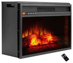 akdy 27 freestanding electric fireplace heater temperature control with remote contemporary indoor