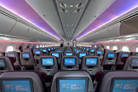 qatar airways boeing 787 8 dreamliner economy cl economy cl qatar airways with its brand new fleet boeing 787 8 dreamliner