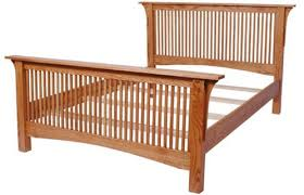 Mission Bed Frames | Solid Wood Bed Frame in the Mission Style