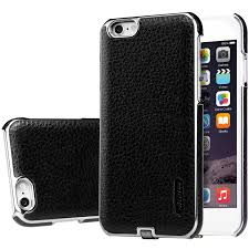 apple iphone 100. nillkin n-jarl wireless charging case - apple iphone 6 / 6s black iphone 100