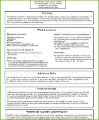 What Should Not Be Included In A Resume Should A Resume Have References Hotwiresite Com