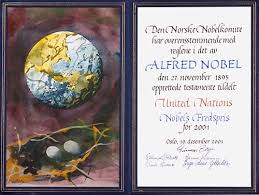 united nations nobel diploma kofi annan nobel diploma
