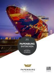 Erleniskompass Papenburg 2018 By Papenburg Tourismus Issuu