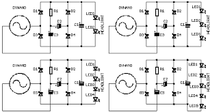dynamo led light systems for bicycles electronic circuits multiple leds in a bicycle headlight
