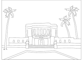 Small Picture Lds Temple Coloring Pages esonme