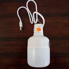 Bóng đèn led tích điện 40W - Đèn sạc tích điện USB không cần dây điện