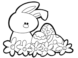 Coloring Picture Of Large Easter Bunny Bunny Coloring Pages Bunny