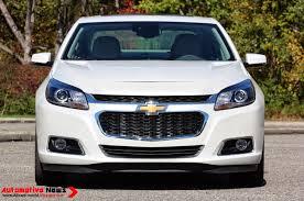 Automotive News: 2014 Chevrolet Malibu