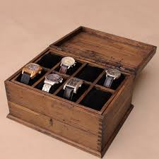 25 best ideas about watch box mens watch box personalized rustic men s watch box for 8 by ourweddinginvites