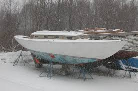 Image result for sailboat in boatyard