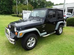 used 2000 jeep wrangler sport in bluffton sc