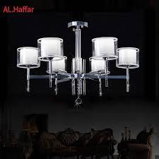 <b>Modern</b> luxury <b>crystal</b> LED <b>Chrome</b> color <b>metal Chandeliers Lighting</b> ...