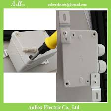 76x70x38mm waterproof outdoor electrical boxes with supplier in china