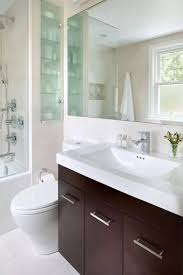 space saving ideas for small bathrooms. small bathroom space saving vanity ideas. contrasting top and body of the wooden drawer ideas for bathrooms /