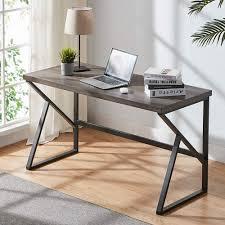 <b>Solid Sheesham</b> Wood & Iron <b>Study Desk</b> Office computer <b>table</b> for ...