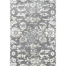 arvilla damask charcoal 9 ft x 12 ft area rug 16 x 12 area rug