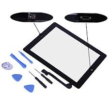 iPad 4 Replacement <b>Front Glass</b> Digitizer - HDE <b>Touch Screen</b> + ...