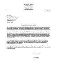 Super Simple Cover Letter Example Cover Letter Sample For Fresh