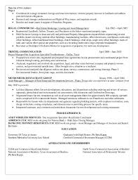 Real Estate Manager Resume 18 Management Example