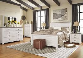 white washed bedroom furniture. willowton whitewash bedroom furniture collection white washed h
