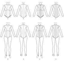 Bodysuit Sewing Pattern Custom McCall's 48 Yaya Han Zippered Bodysuit