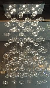 bubble chandelier rectangle