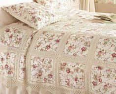 Fabric Crochet Quilt Is The Project You've Been Looking For ... & crochet quilt Adamdwight.com