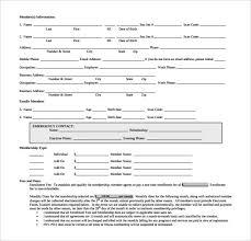 Gym Admission Form - Kleo.beachfix.co