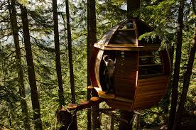 4. The HemLoft Treehouse (Whistler, Canada)