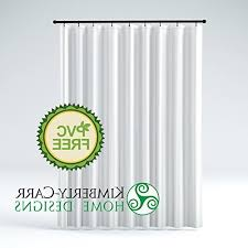 the shower curtain liner hotel quality mildew resistant wash