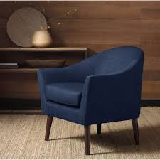 discount living room accent chairs. grayson navy accent chair - overstock™ shopping great deals on living room chairs discount i