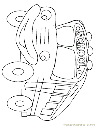 Small Picture Schoolbus Coloring Page Free School Coloring Pages