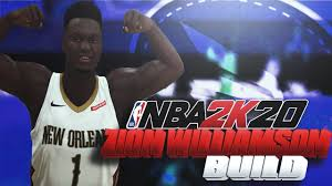 NBA 2K20 Zion Williamson Build