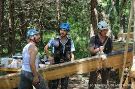 Innovation Treehouse Masters Cast Works With Pete And Henry On A Build Throughout Beautiful Ideas