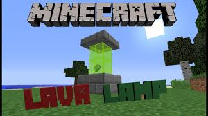 Minecraft How To Make A Lava Lamp Youtube