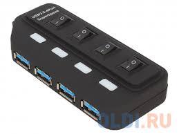 Концентратор <b>USB</b> 3.0 <b>ORIENT BC</b>-<b>306PS</b>, <b>USB</b> 3.0 HUB 4 Ports ...